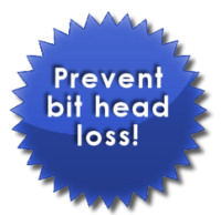 prevent bit head loss